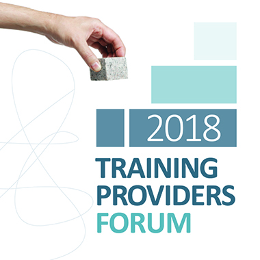 Training Providers Forum 2018 graphic