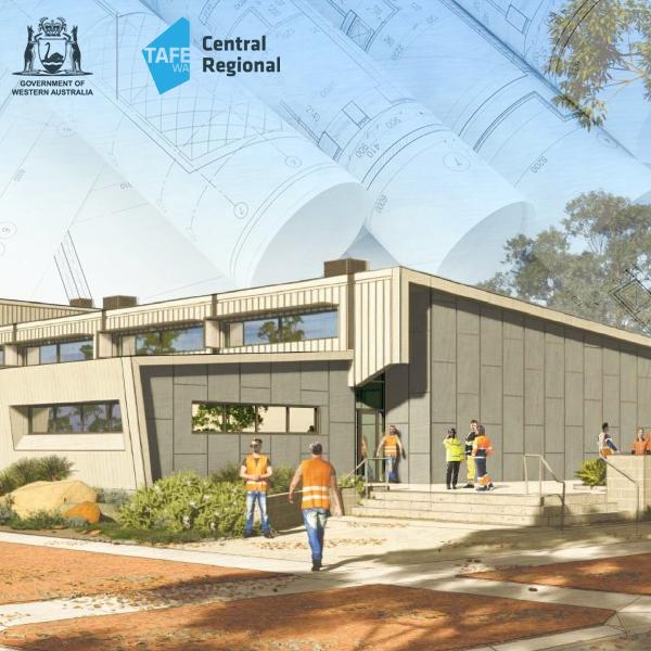 New Kalgoorlie TAFE campus.