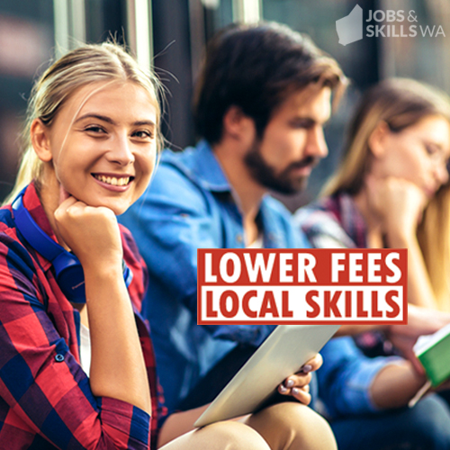 Lower fees, local skills students.