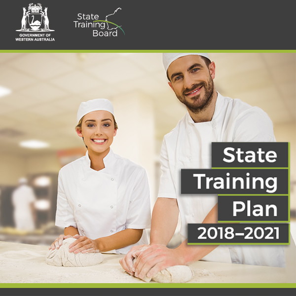 State Training Plan 2018 cover