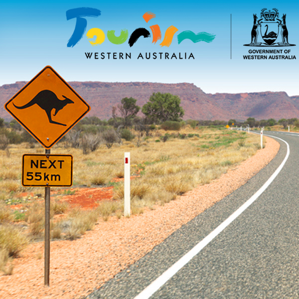 A road sign on a WA country road.