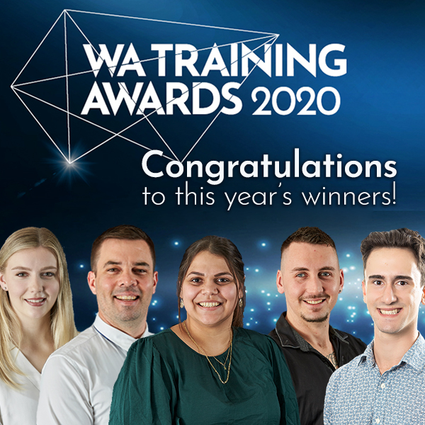 WA Training Awards winners 2020.