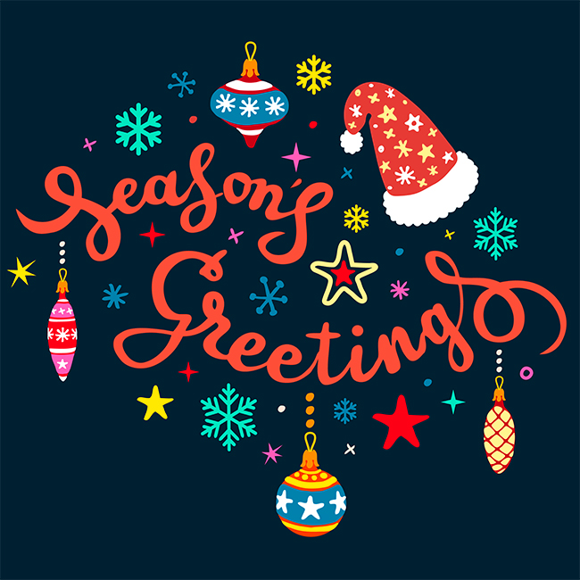 Seasons greetings to all our clients