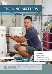 Training Matters cover July 2016