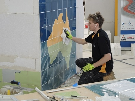 Wall and floor tiling Competition