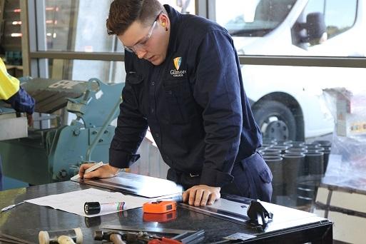 Thomas Pratt, gold medal winner, VETiS Metals and engineering.