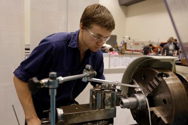 Joseph Pauley, Industrial mechanic millwright.