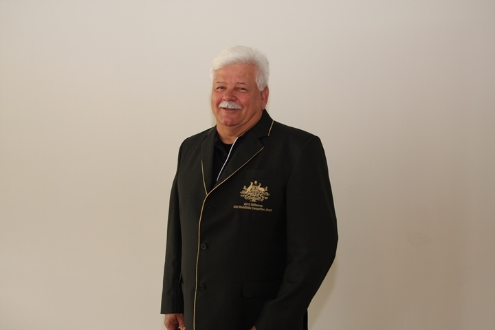 Ron Simeon was the only international expert from Western Australia for many years. His skill category is Wall and floor tiling.