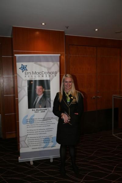 Sharlene Kidd won the 2016 Ern MacDonald Fellowship award.