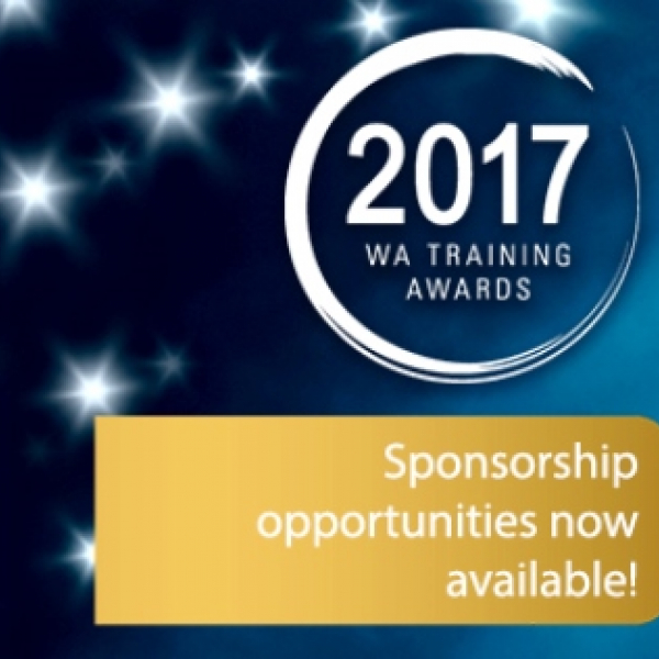 Sponsor the WA Training Awards for 2017