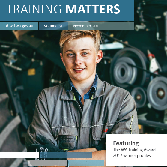 Training Matters November 2017 cover