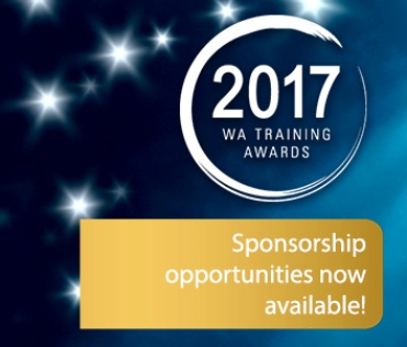 Sponsor the WA Training Awards for 2017