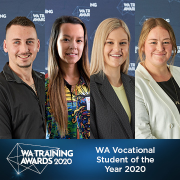2020 Vocational Student of the Year finalists.