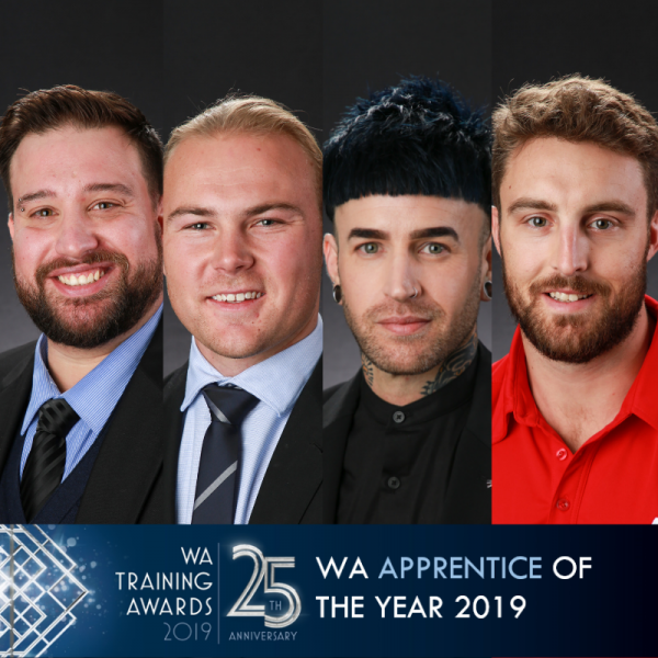 WA Apprentice of the Year finalist headshots