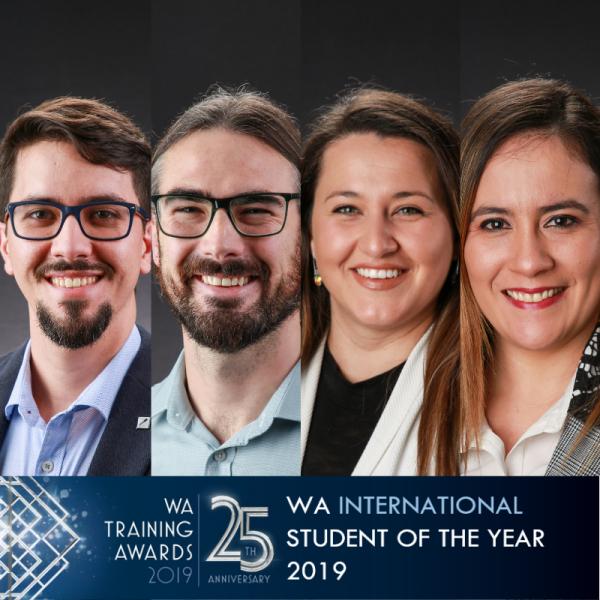 WA International Student 2019 finalist headshots