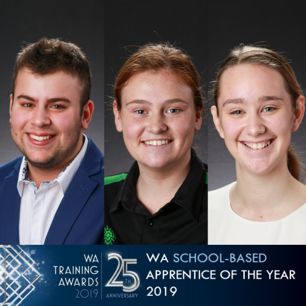 WA School-based Apprentice 2019 finalist headshots