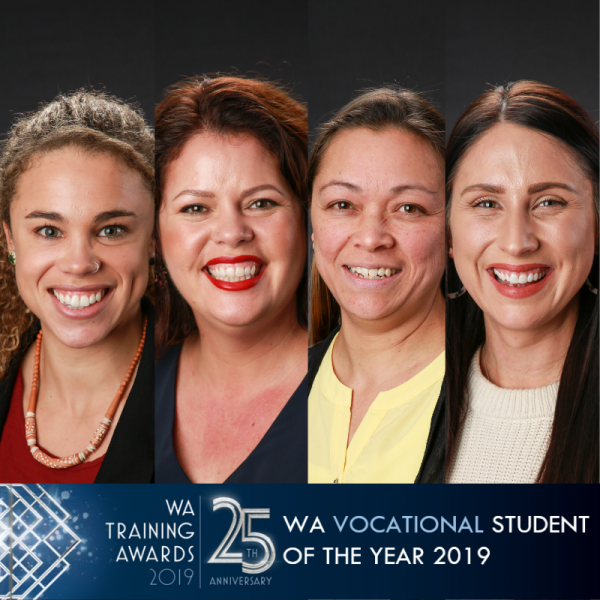 WA Vocational Student 2019 finalist headshots