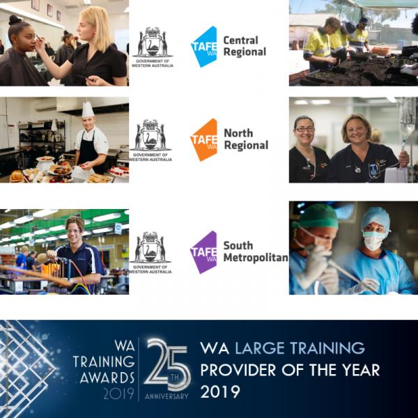 WA Large Training Provider 2019 finalists