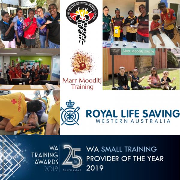 WA Small Training Provider 2019 finalists
