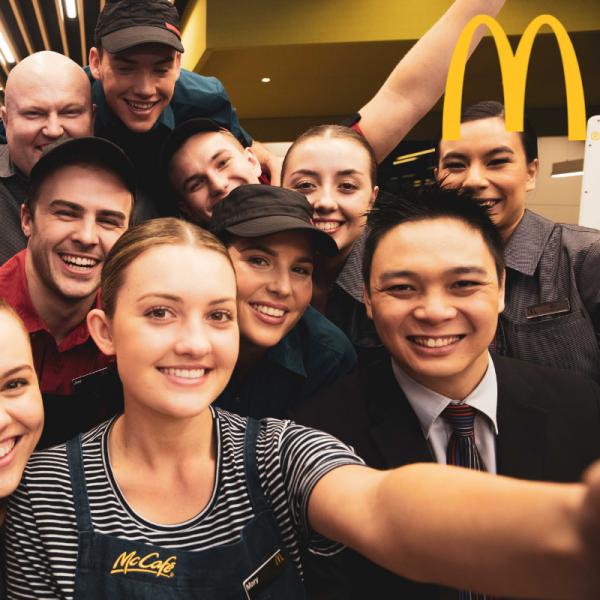 WA Large Employer of the Year 2021 - McDonald's Australia, WA