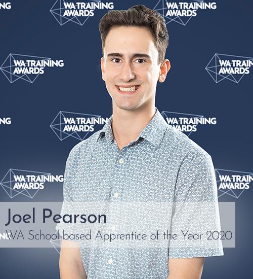 Joel Pearson, WA School-based Apprentice of the Year 2020